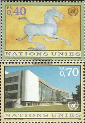 Geneva 286-287 Fine Used Loyal Un Cancelled 1996 Clear Brands