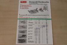 162292) Hassia Dreipunkt Gerätereihe Prospekt 03/1969