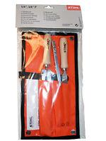 Stihl 5605 007 1027 Stihl Feilen-Set für Picco Sägekette 1/4 Zoll (6,4 mm) und 3/8 Zoll (9,5 mm) (5055485032263)