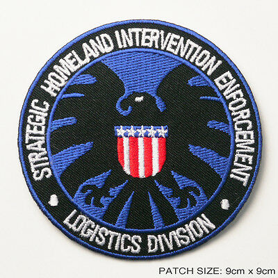 S.H.I.E.L.D. AVENGERS New Marvel AGENTS OF SHIELD Iron-On Embroidered Patch!