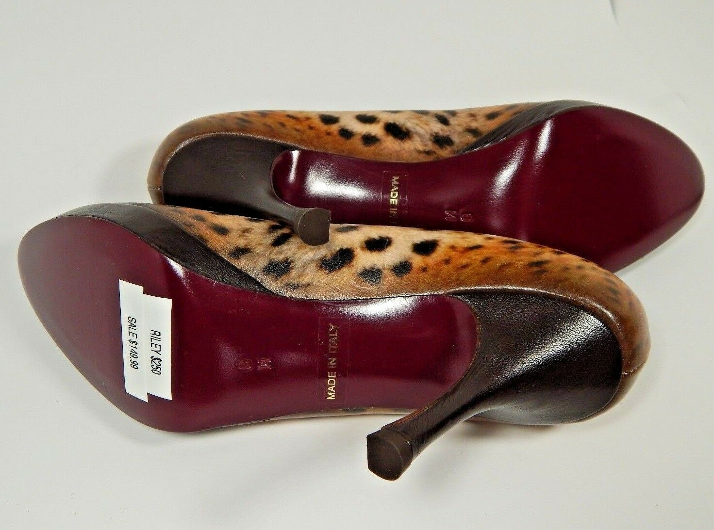 NEW  250 Icon High Heel Classic 7.5M Pump Leopard Two Cougars 6 M RILEY 7.5M Classic b5a628