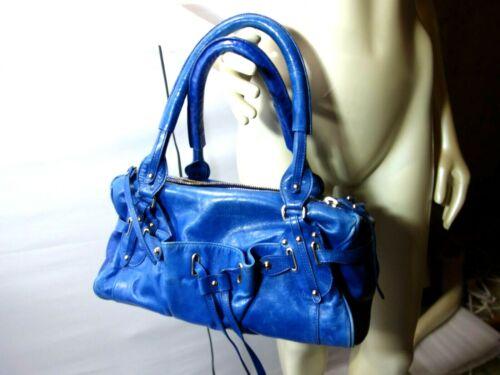 Authentic Alessandro Dell'Acqua Soft Leather Satch