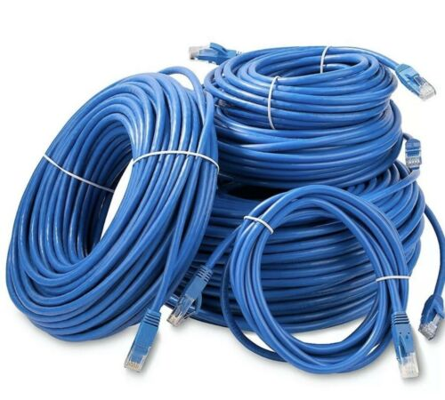 25ft HIGH QUALITY Cat5e Ethernet Network Cable PC PlayStation Xbox Router