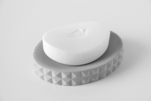 Soap dish made of cement Accessory for the bathroom Soap dish of concrete