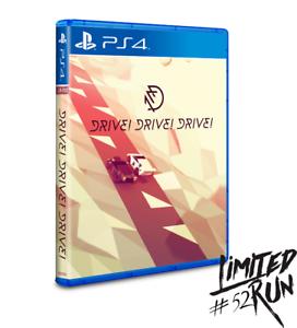 Drive-Drive-Drive-Limited-Run-52-PlayStation-4-2016-PS4
