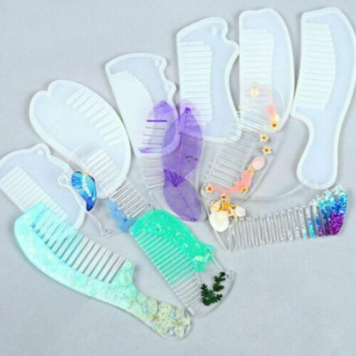 Silicone Comb Jewelry Making Mold Resin Epoxy Mould Casting Handmade Craft Tool