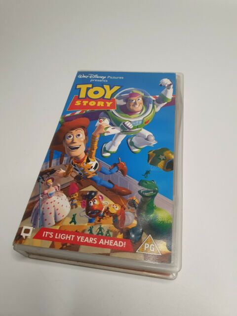 TOY STORY SPECIAL COLLECTORS EDITION VHS BRAND NEW AND VERY RARE DISNEY