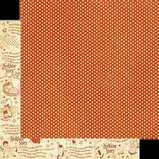2pc Graphic45 IMAGINE 12x12 Dbl-Sided Scrapbooking Paper VINTAGE