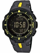 Casio PRG300-1A9 Protrek Triple Sensor VERSION 3 Black Yellow Watch