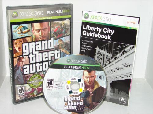 1 of 1 - Grand Theft Auto IV 4 (XBOX 360)     ****NICE****  FREE SHIP!!