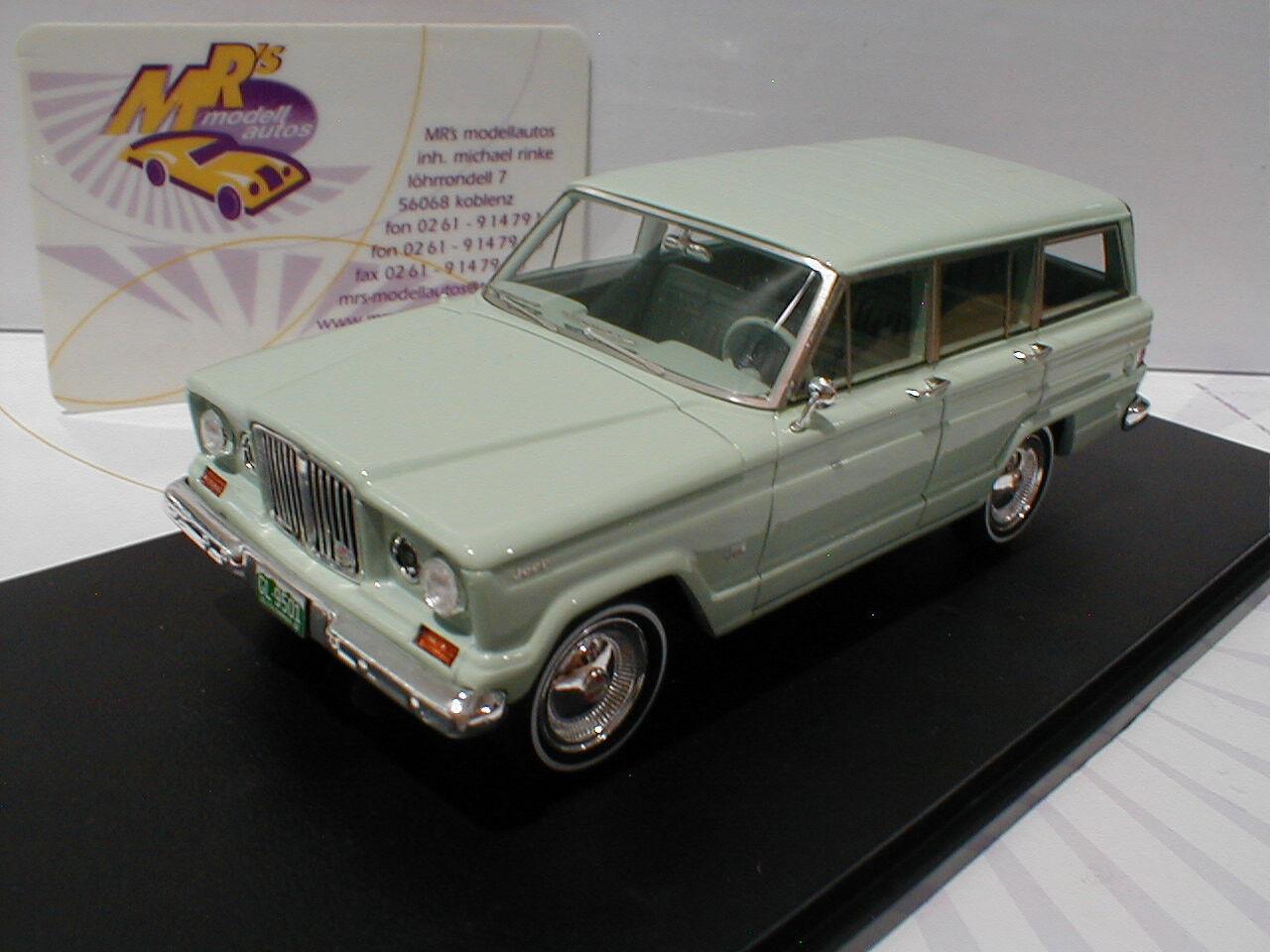 Bma 109501 - jeep wangoneer baujahr 1962  hellgr ü n  1 43