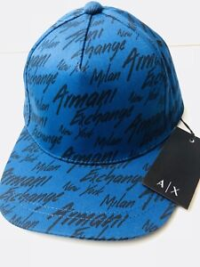55b8601d Image is loading New-Armani-Exchange-AX-Mens-CITY-SCRIPT-LOGO-