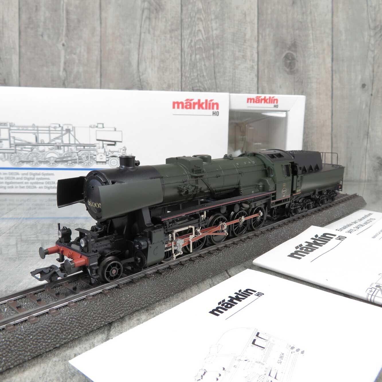 MÄRKLIN 34156 - H0 - Dampflok - NMBS-SNCB 26.005 - Digital Adr. 78 - OVP  V23735