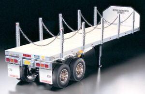 Tamiya-1-14-de-superficie-plana-Semirremolque-Modelo-Kit-Para-R-C-Tractor-Camion-56306