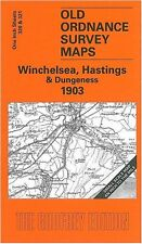 MAP OF WINCHELSEA, HASTINGS & DUNGENESS 1903
