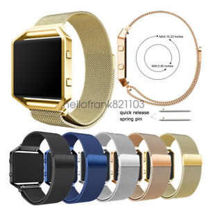 Stainless-Steel-Milanese-Loop-Bracelet-Watch-Band-Strap-For-Fitbit-Blaze