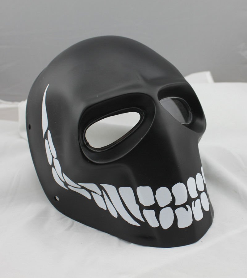 PC Lens Mask Paintball Airsoft Full Face Predection Skull Mask Prop M07811
