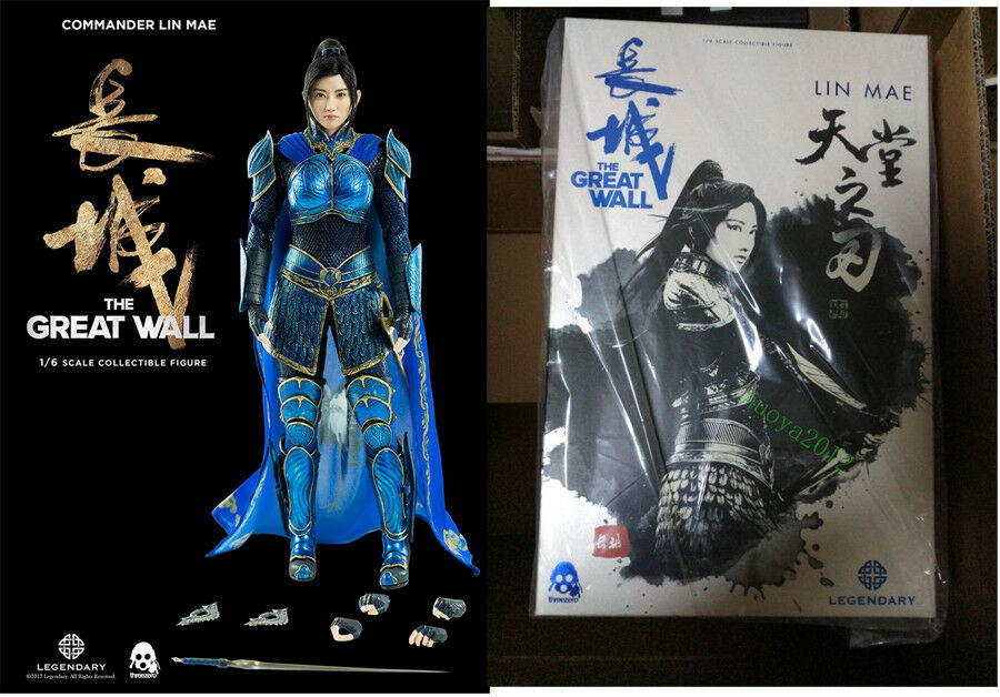 1 6 Female Action Figure Threezero 3Z0048 Girl Lin Mae Jing Tian The Great Wall