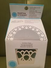 New Martha Stewart Craft Circle Edge Paper Punch Cartridge modern lace Design