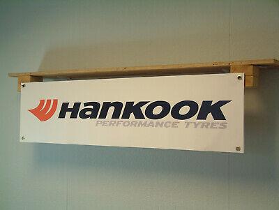 Hankook Tyre Workshop Garage Banner