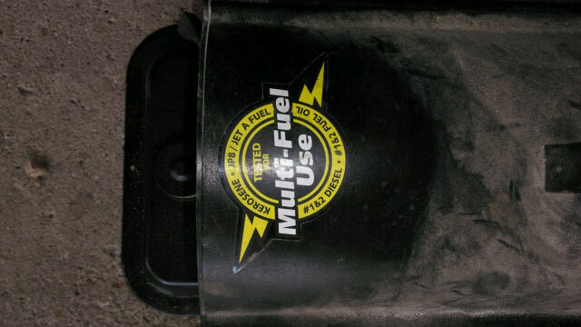 Kerosene Sel Portable Heater Multi Fuel 60000 Btu Forced Air 115v