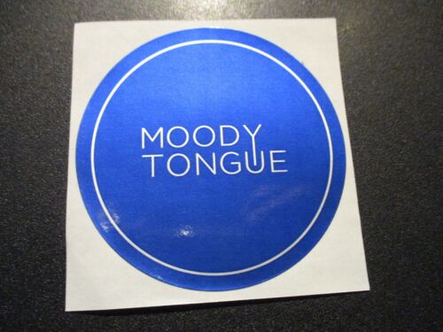 MOODY TONGUE BREWING Chicago Illinois Churro STICKER decal craft beer brewery