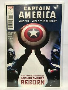 Captain-America-Who-Will-Wield-The-Shield-1-VF-1st-Print-Marvel-Comics