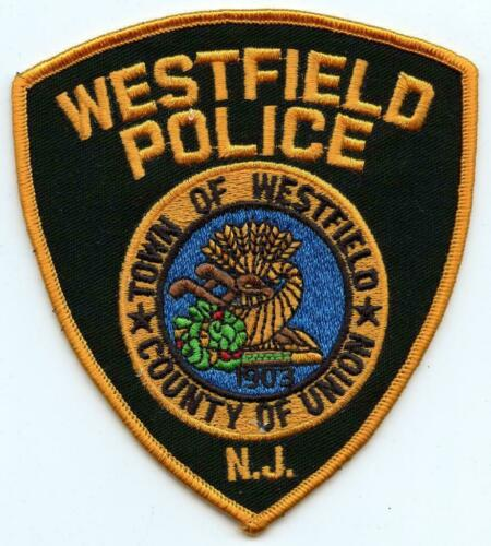 """Vintage Westfield New Jersey Police Department Officer Union County 4.5/"""" Patch"""