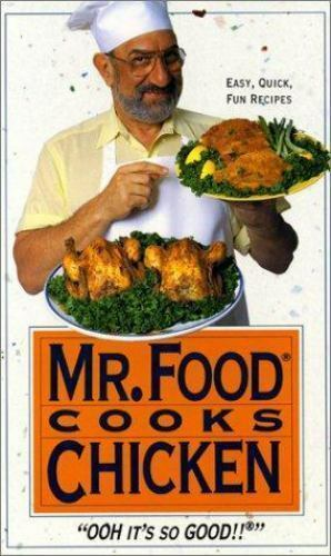 Mr Food Cooks Chicken By Art Ginsburg 1993 Hardcover Ebay