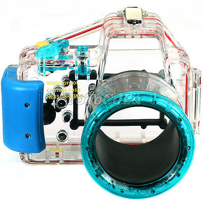 40M waterproof underwater camera housing case for Sony DSLR NEX-3 + 18-55mm lens