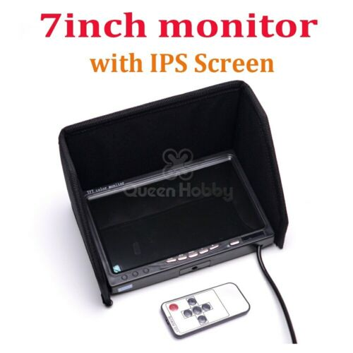 "NO blue 7/"" FPV LCD Color 1024 x 600 FPV Monitor Video Screen IPS 7 inch for Rc"