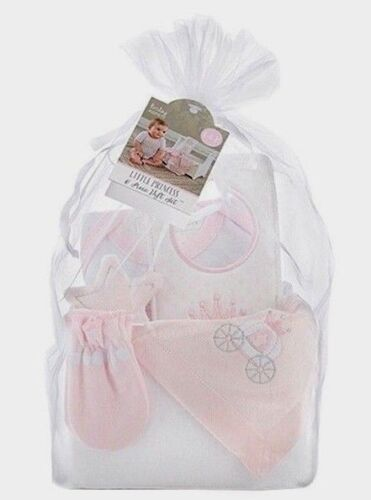 Adorable Baby Girl Little Princess 6pc Gift Basket, 06M, Baby Shower, Newborn