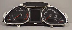 002 audi a6 c6 4f diesel manual instrument cluster km h speedometer rh ebay co uk 2010 Audi A6 Repair Manual Audi A6 Manual Transmission