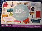 WAYFAIR 10% Off Your Entire Order Wayfair.com EXPIRES 5/31/2017 First Order Only