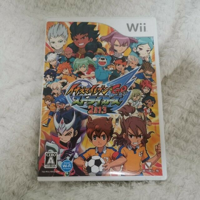 Inazuma Eleven Go Strikers 2013 Nintendo Wii 2012 Japanese Version For Sale Online Ebay