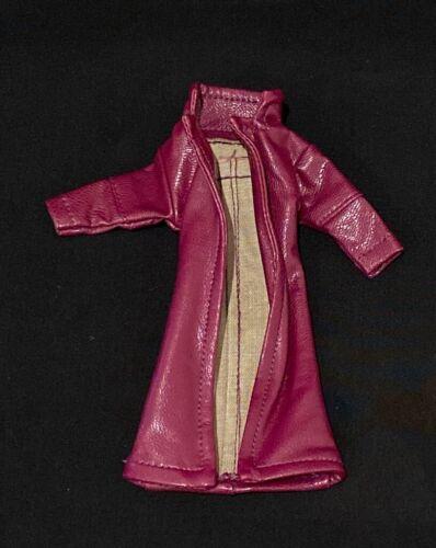 No Figure SU-LTC-JK 1//12 Purple Wired Trench Coat for Mezco One:12 Joker