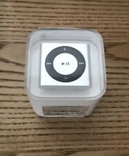 SEALED APPLE IPOD SHUFFLE 4TH GENERATION 2GB SILVER - BRAND NEW - RARE