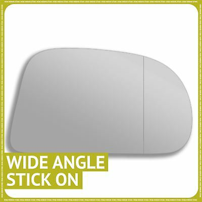 Left passenger side mirror glass for Mini Countryman 2017-On wide angle heated