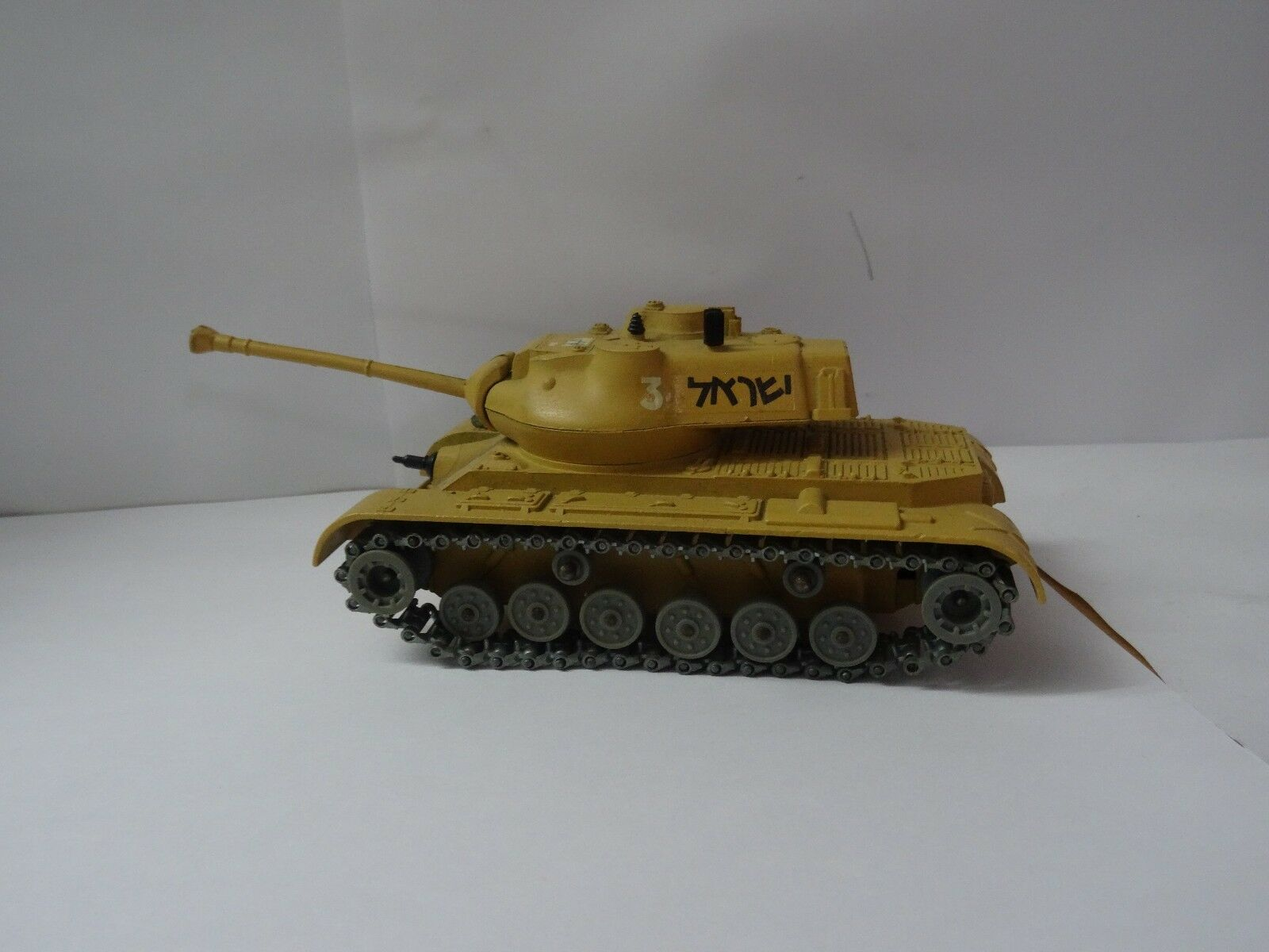 Solido france tank israel metal char blinde general patton  M -47 RARE ITEM