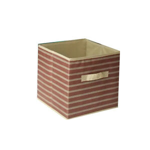 Home Storage Bin File Box Household Toy Organizer Fabric