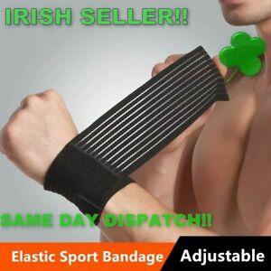 Sports-wrist-brace-wrap-bandage-support-gym-strap-elastic-wristband