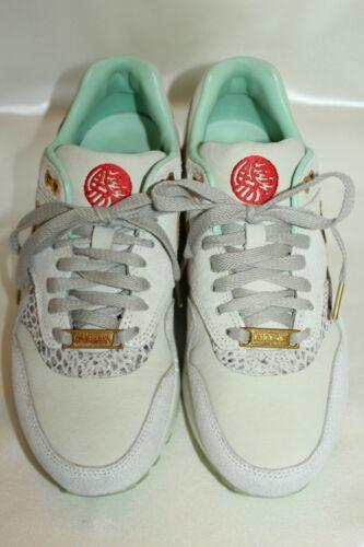 White ante de Zapatillas de Air y cuero 6 cruzadas deporte Nike 5 Sz Trainer nUIUZ0p