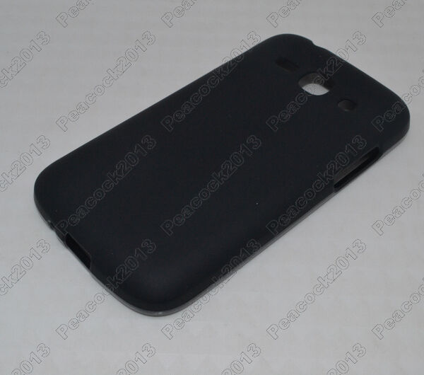 Black Matting TPU Silicone CASE Cover For Samsung Galaxy Ace3 S7272 S7270