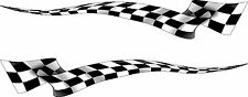 Boat Car Truck Trailer Motorcycle Graphics Decal Racing flag Stickers Wrap 50""