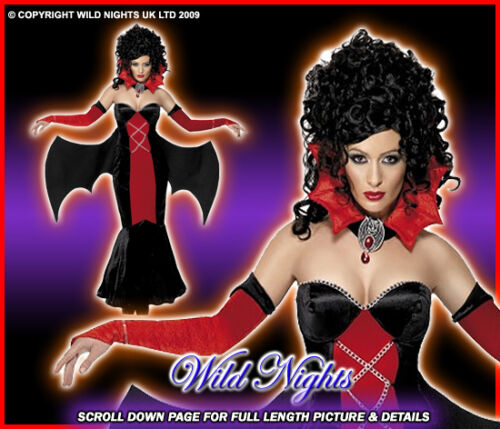 HALLOWEEN FANCY DRESS # GOTHIC MANOR VAMPIRESS SM 8-10