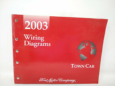 2003 Lincoln Town Car Wiring Diagrams Manual Ebay