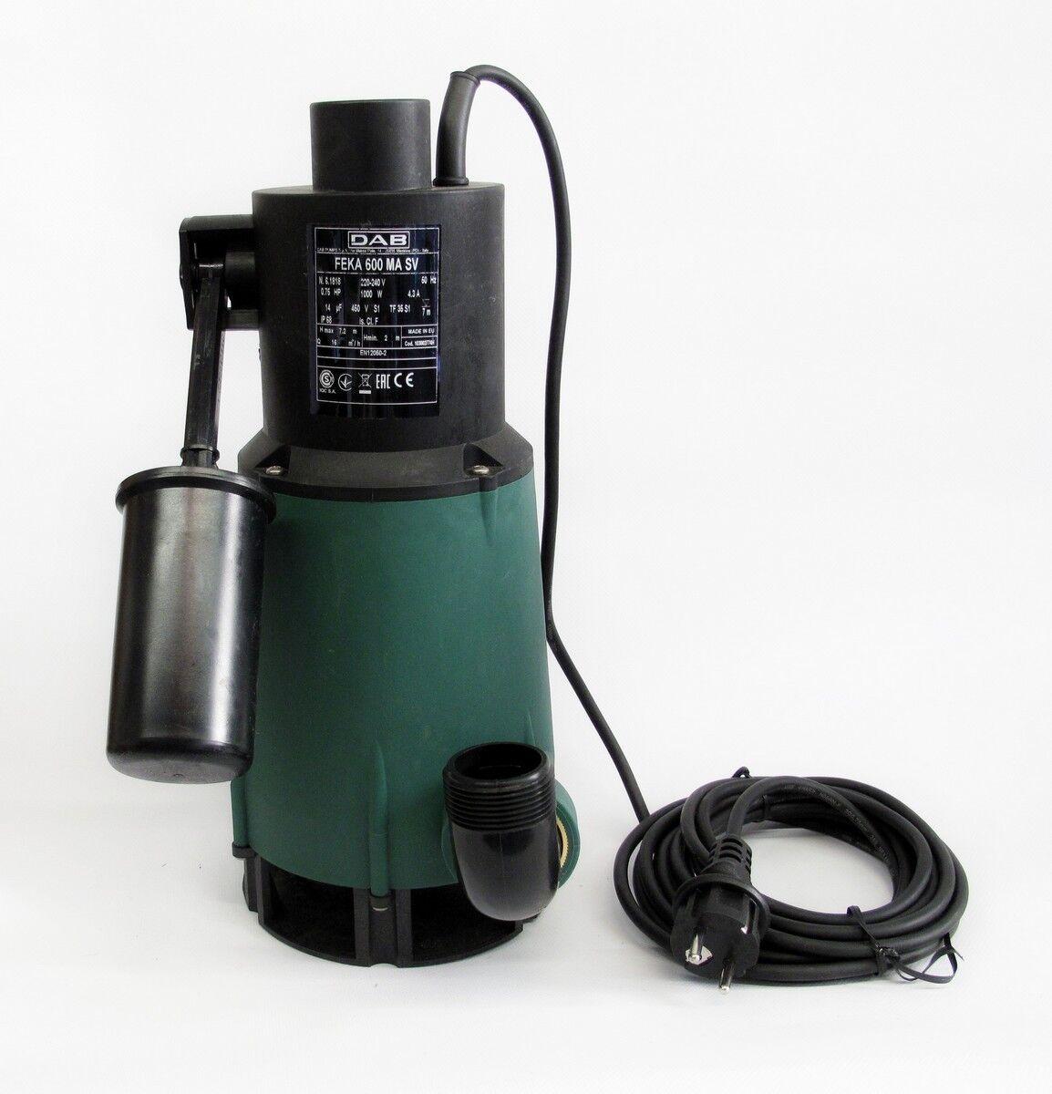 DAB FEKA 600 M-A SV Tauch Schmutzwasserpumpe DA114