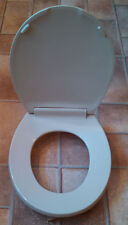 Beneke Solid Plastic Round Front Toilet Seat - 420 - Mansfield ROYAL PARCHMENT