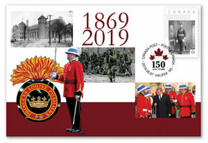 CANADA-2019-PRINCESS-LOUISE-FUSILIERS-COMMEMORATIVE-SPECIAL-EVENT-COVER