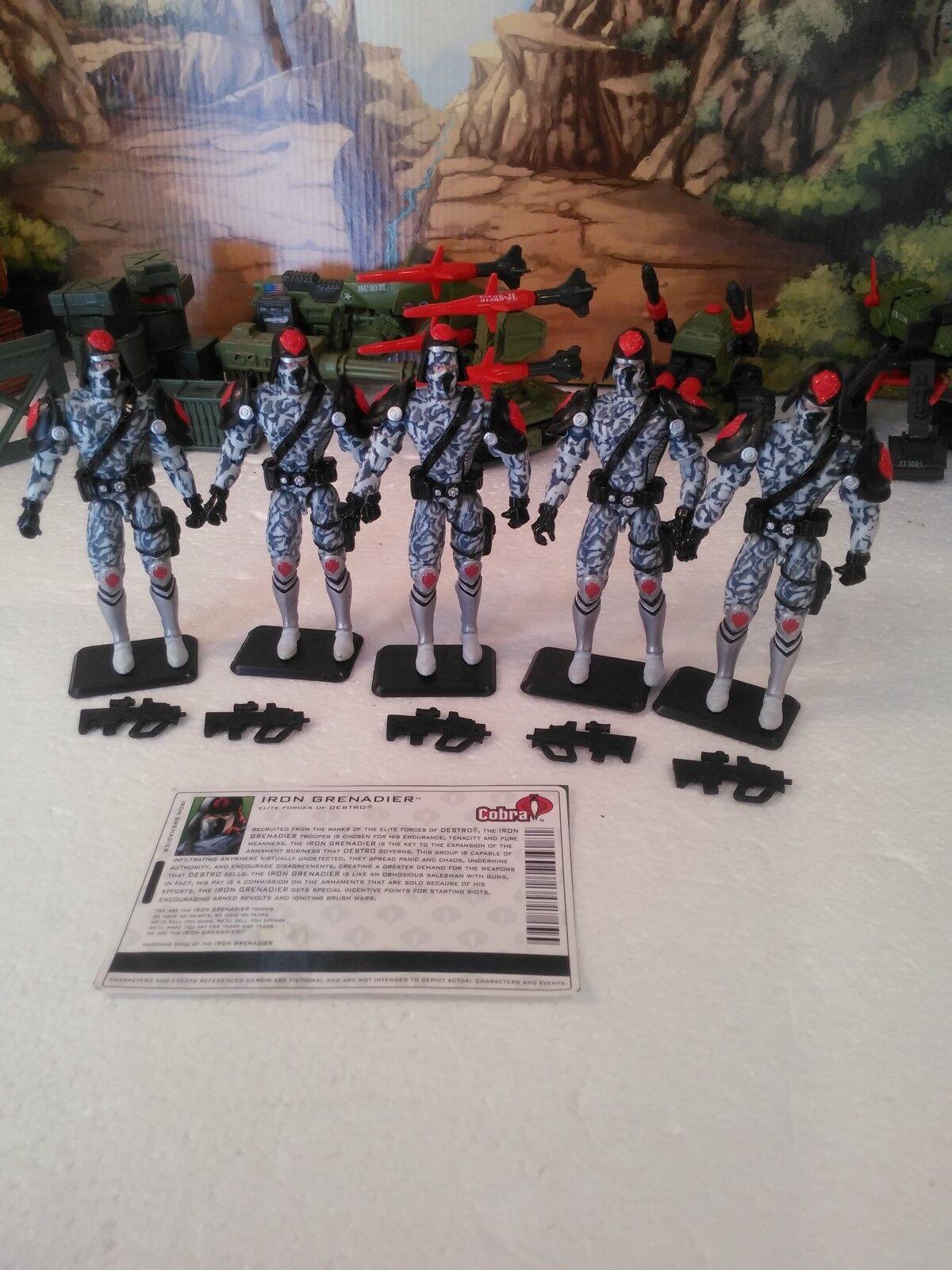 Wal-Mart Excl  (5) 2004 Elite Forces  de Destro  Iron Grenadier (v4)  100% CPM  le plus préférentiel